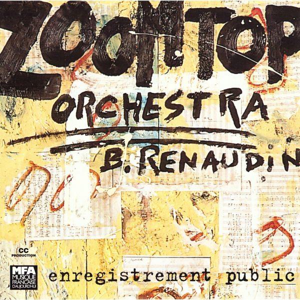 Zoom Top Orchestra Album Bertrand Renaudin, batteur de jazz