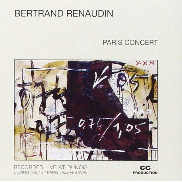 Paris Concert Live Bertrand Renaudin batteur, compositeur de jazz